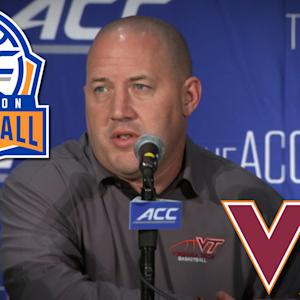 Buzz Williams Focusing on Family Atmosphere at Virginia Tech | ACC Operation Basketball
