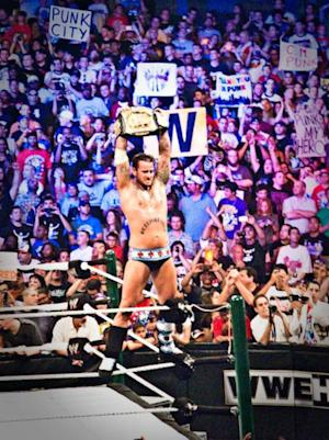 CM Punk defeated Alberto Del Rio to win the WWE Title at the 2011 Survivor Series