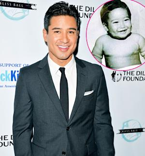 Mario Lopez Shares Chubby Baby Throwback Picture on 40th Birthday