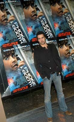 Colin Farrell at the New York premiere of 20th Century Fox's Phone Booth