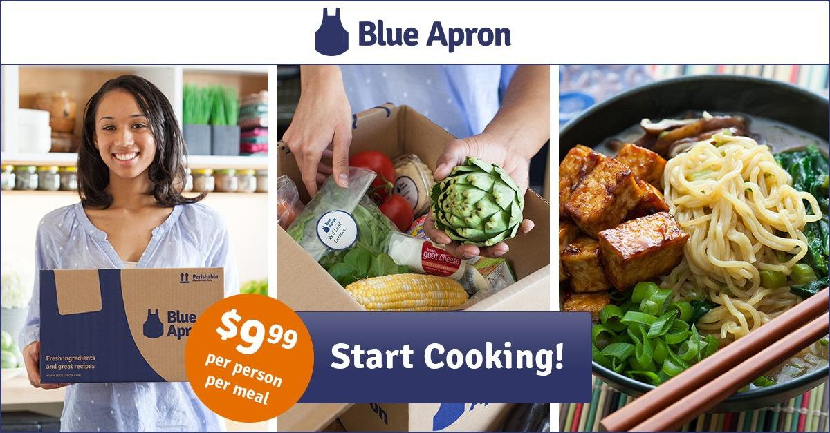Blue Apron: Eat healthy. Cook more. Spend less.
