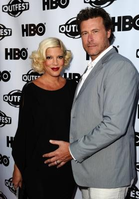 "Tori Spelling and Dean McDermott attend the 2011 Outfest Opening Night Gala of ""Gun Hill Road"" at the Orpheum Theatre, Los Angeles, on July 7, 2011 -- Getty Images"