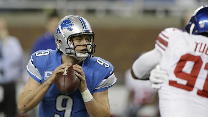 Stafford takes heavy blame for Lions' fall