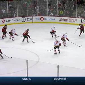 Calgary Flames at Minnesota Wild - 03/27/2015