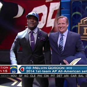 San Diego Chargers pick running back Melvin Gordon No. 15 in 2015 NFL Draft