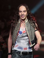 British designer John Galliano in 2007