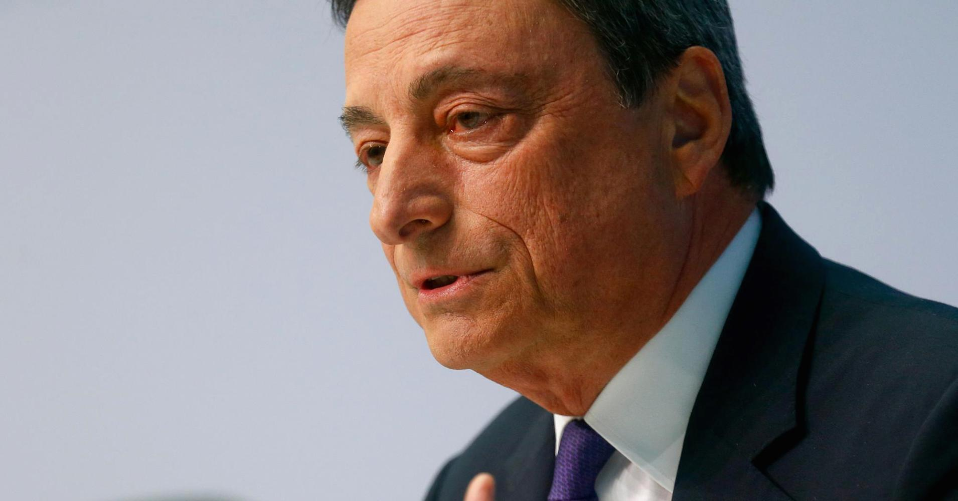 Euro zone outlook brightest 'in seven years': Draghi