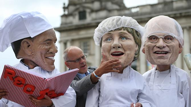 Protests And Preparations For The G8 Summit In Northern Ireland