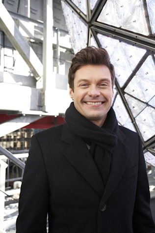 Ryan Seacrest, producer and host of Dick Clark&#39;s New Year&#39;s Rockin&#39; Eve on ABC, poses for a portrait Friday, Dec. 28, 2012 in New York. As New Year&#39;s Eve nears, Seacrest is focused on getting ready for the show, which, with related programming, will blanket ABC from 8 p.m. until past 2 a.m. EST. (Photo by Dan Hallman/Invision/AP Images)