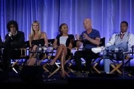 "'America's Got Talent's 3 Votes Rule; New Judges Heidi Klum & Mel B Defend Their ""Honesty"": NBC Press Day"