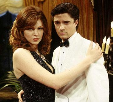 "The SATs inspire a few fantasies for Donna (Laura Prepon, L) and Eric (Topher Grace, R) on ""The Crunge"" episode of Fox's That 70s Show"