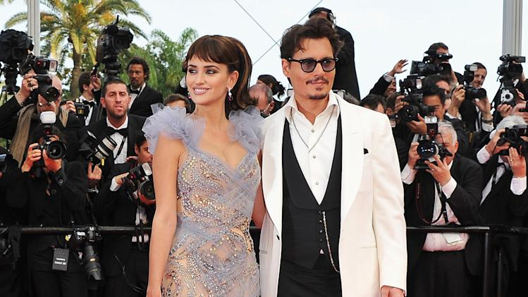 Cannes Film Festival 2011 Penelope Cruz Johnny Depp
