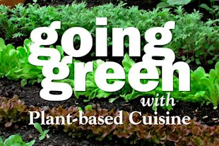 earth day going green plant based cuisine