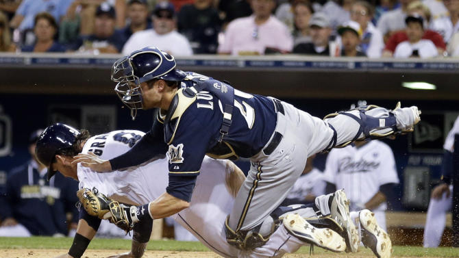 Rivera lifts Padres past Brewers 3-2 in 10 innings