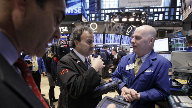 US stocks slip; Yelp jumps 64 percent after IPO