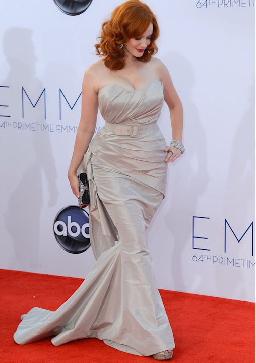 Emmys 2012: Christina Hendricks shows off her killer curves. Again.