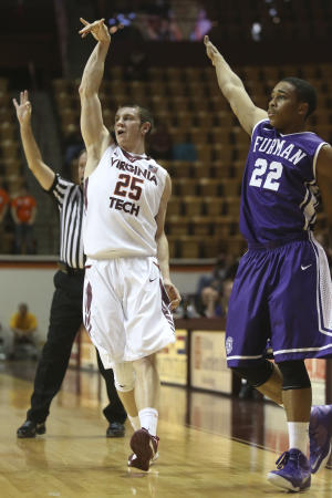 Virginia Tech defeats Furman 75-54