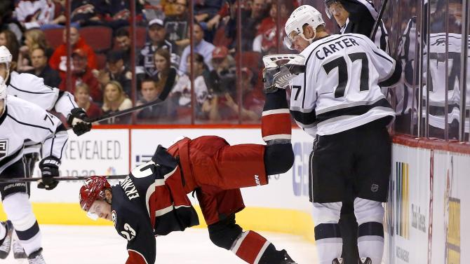 Coyotes knock off rival Kings 3-0
