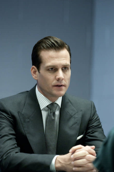 SUITS -- 'Dog Fight' Episode 112 -- Pictured: Gabriel Macht as Harvey Specter -- Photo by: Christos Kalohoridis/USA Network