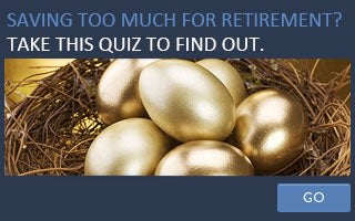Are you saving too much for retirement? Take this quiz to find out copyright Subbotina Anna/Shutterstock.com