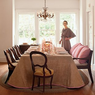 Expanded Dining Room Table