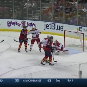 Cam Ward Save on Aaron Ekblad (04:49/2nd)