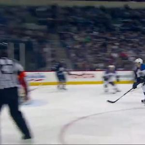 Bryan Little rips one top-shelf on the PP