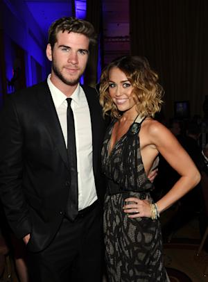 FILE:  Miley Cyrus And Liam Hemsworth Engaged