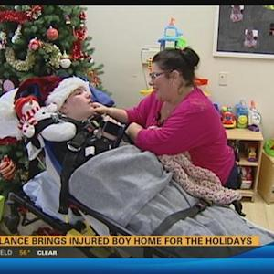 Injured boy going to holiday party thanks to donated ride 11:00 p.m.