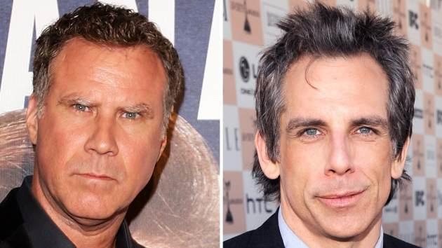 Will Ferrell, Ben Stiller -- Getty Images