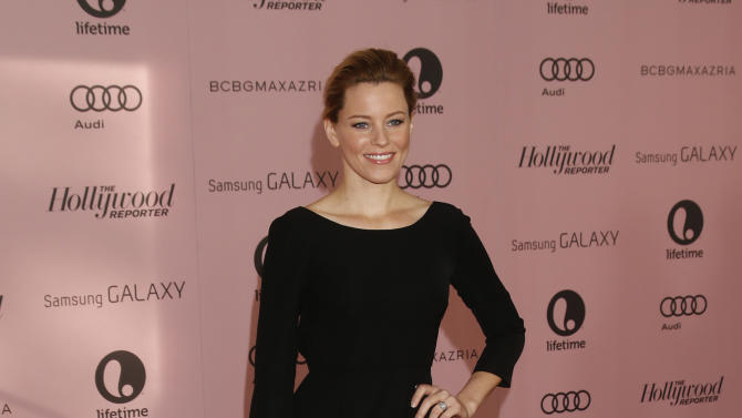 Elizabeth Banks arrives at The Hollywood Reporter's Women in Entertainment breakfast at The Beverly Hills Hotel on Wednesday, Dec. 4, 2012, in Beverly Hills, Calif. (Photo by Todd Williamson/Invision/AP)