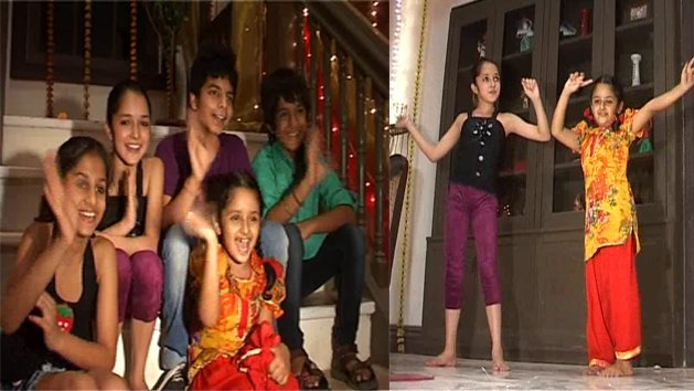 Masti, Maza and Dance on sets of Veera