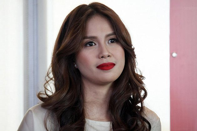Actress Kaye Abad during the press launch of 'Angelito: Batang Ama' last year. (NPPA Images)