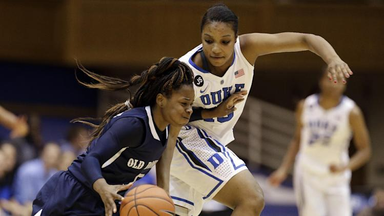 Liston leads No. 3 Duke women Old Dominion, 87-63