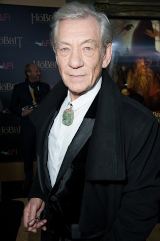 Ian McKellen attends &#39;The Hobbit: An Unexpected Journey&#39; New York premiere benefiting AFI at Ziegfeld Theater on December 6, 2012 in New York City -- Getty Images