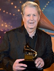 Brian Wilson of the Beach Boys during the 55th Annual GRAMMY Awards Pre-Telecast in Los Angeles
