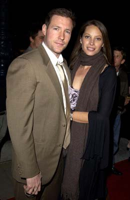Edward Burns and Christy Turlington at the LA premiere of Lions Gate's Confidence