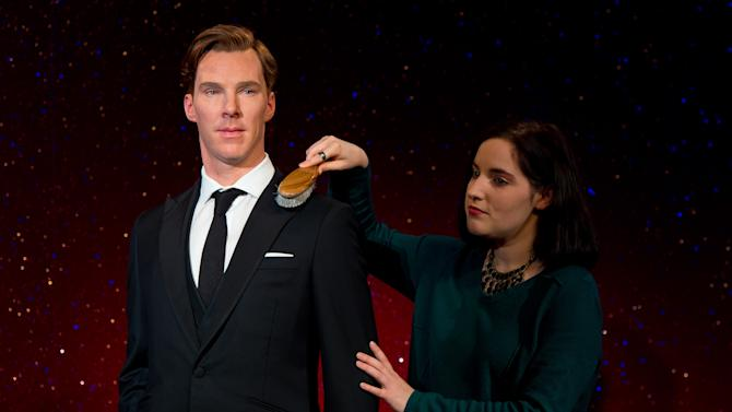 Madame Tussauds Unveil New Wax Figure Of Benedict Cumberbatch