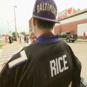 Fans Debate Rice Scandal As Ravens Play Steelers