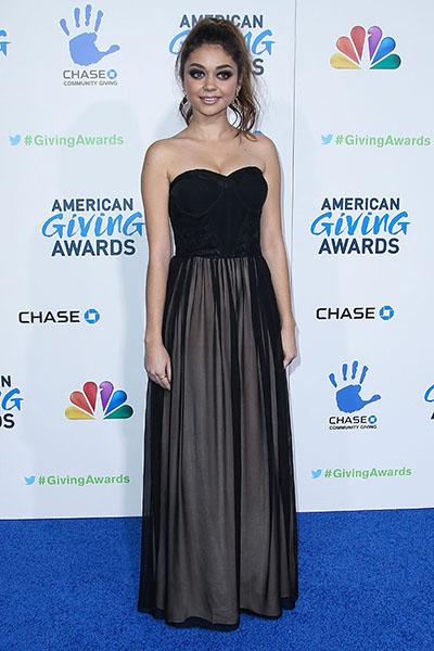 Attending the 2ns Annual American Giving Awards, December 2012