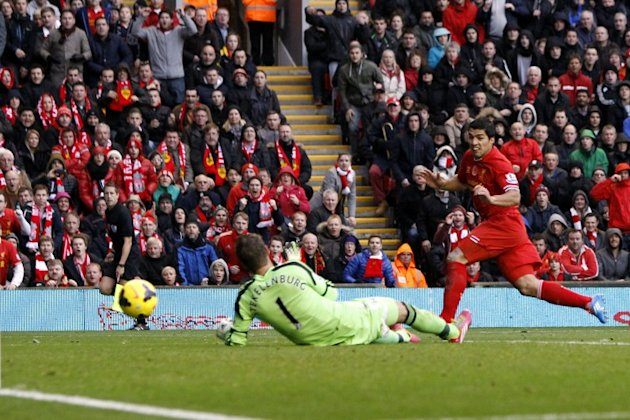 Luis Suarez-inspired Liverpool demolish Fulham