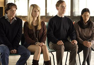 James McAvoy , Alice Eve, Benedict Cumberbatch and Elaine Tan in Picturehouse's Starter for 10