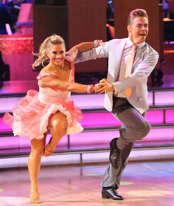 Shawn Johnson and Derek Hough (10/1/12)