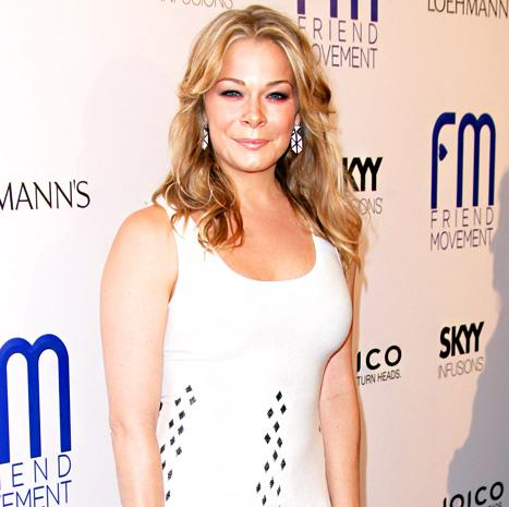 "LeAnn Rimes: ""I'm Far From Pregnant and Just Dropped a Jean Size"""