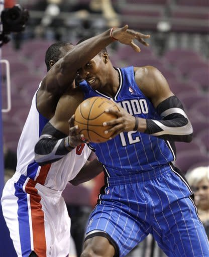 Pistons clamp down on D to beat Magic 89-78