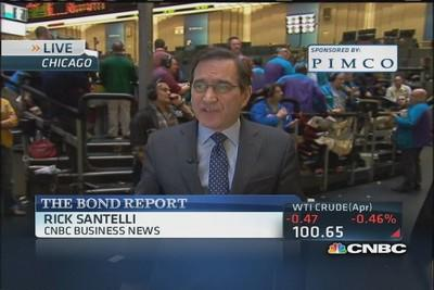 Santelli: Big day for Treasurys