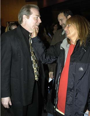 Lenny and Laverne! Michael McKean and Penny Marshall at the Hollywood premiere of Warner Bros. A Mighty Wind