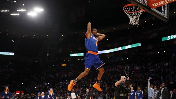 NBA: All Star Game-Slam Dunk Contest