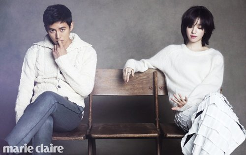 Ko Soo and Han Hyoju perfect lovers on screen and pictorials