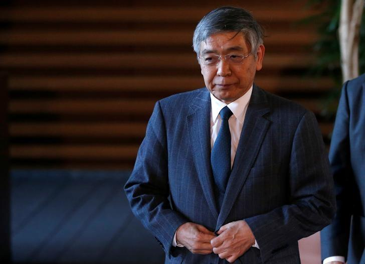 BOJ's Kuroda says closely watching Trump's policy moves